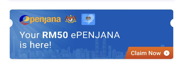 cara tebus RM50 kredit