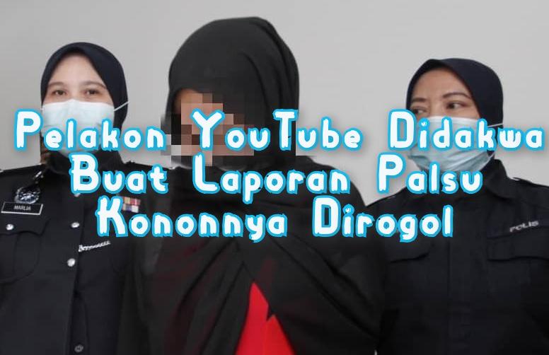pelakon Youtube dirogol