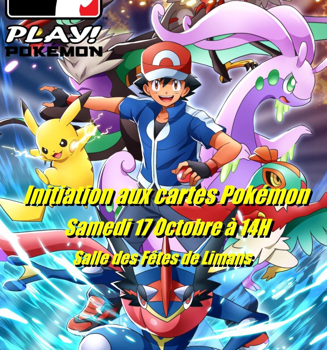 initiation cartes pokemon à limans