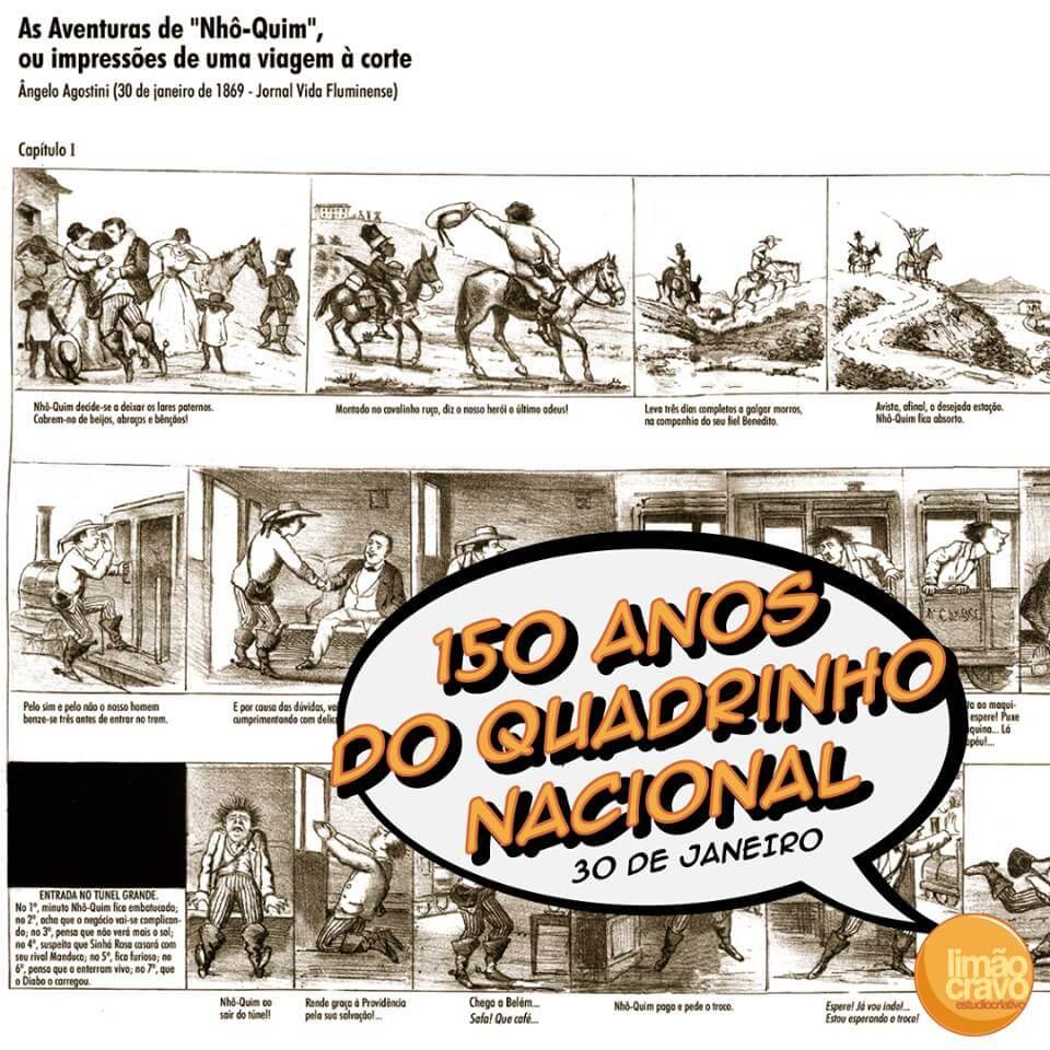 150 anos do quadrinho nacional