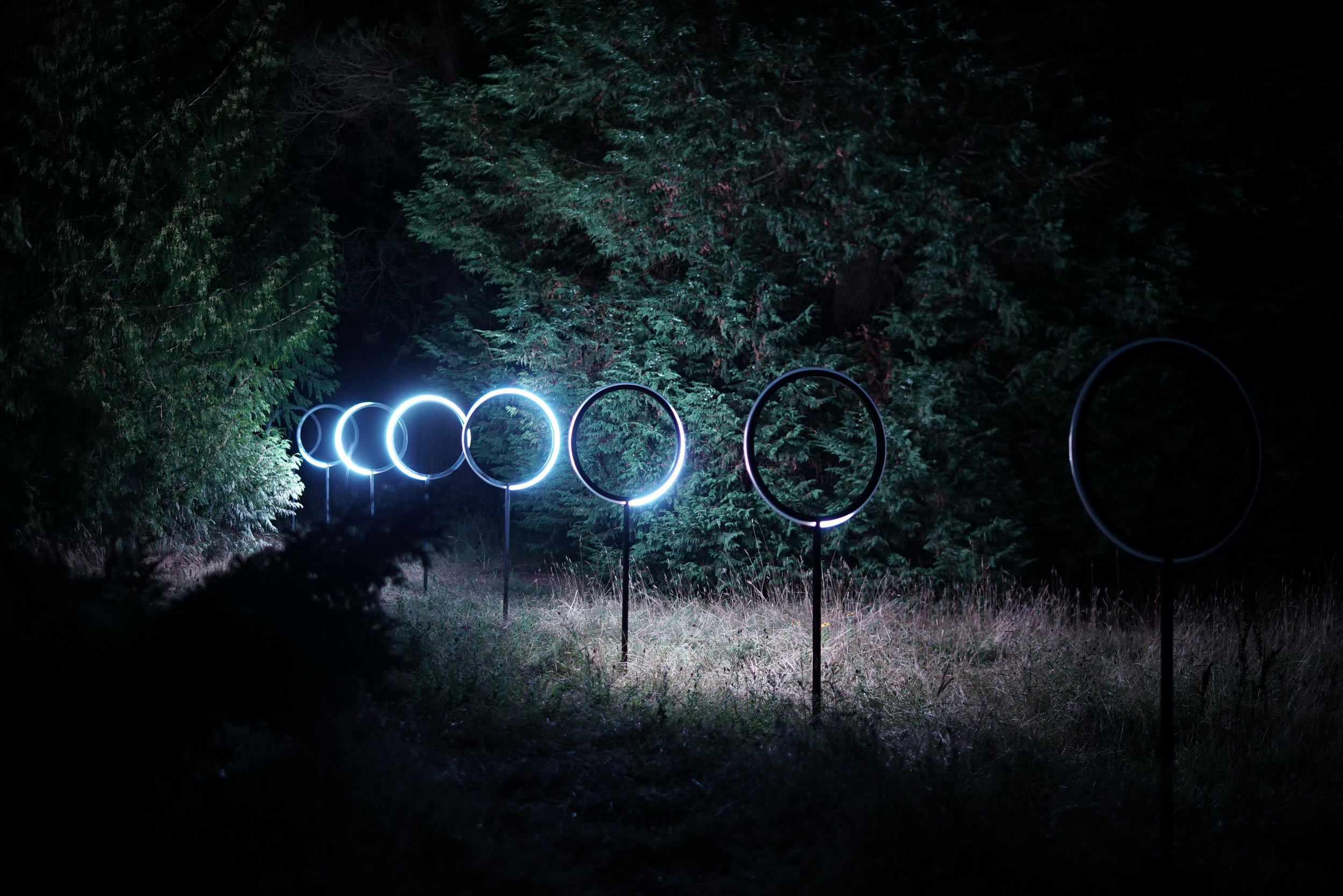 light sculpture