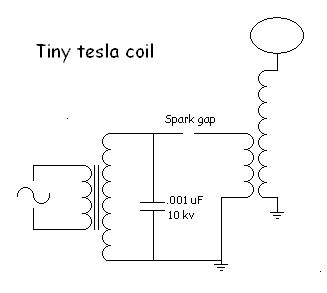Eric's tesla coil page