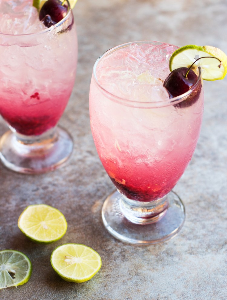 Cherry Ginger Limeade