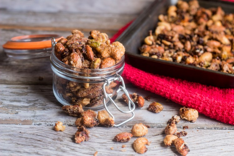 Candied Nuts and Nibs