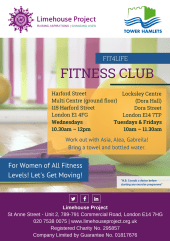 Fit4Life Exercise Club flyer