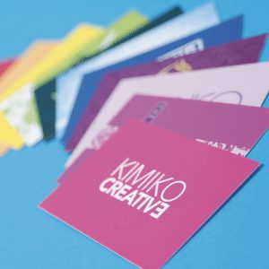 Grand Suede Business Cards