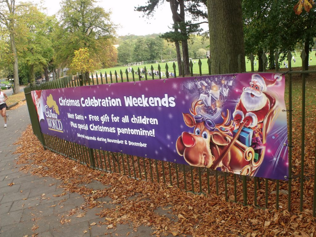 PVC Banner Printing in Bury St Edmunds, Suffolk