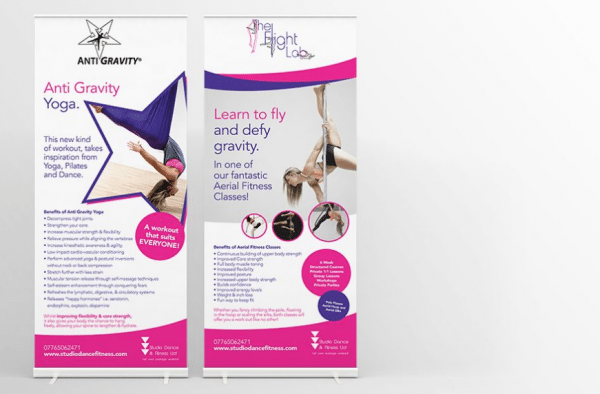 Roller Banner Printing in Bury St Edmunds, Suffolk