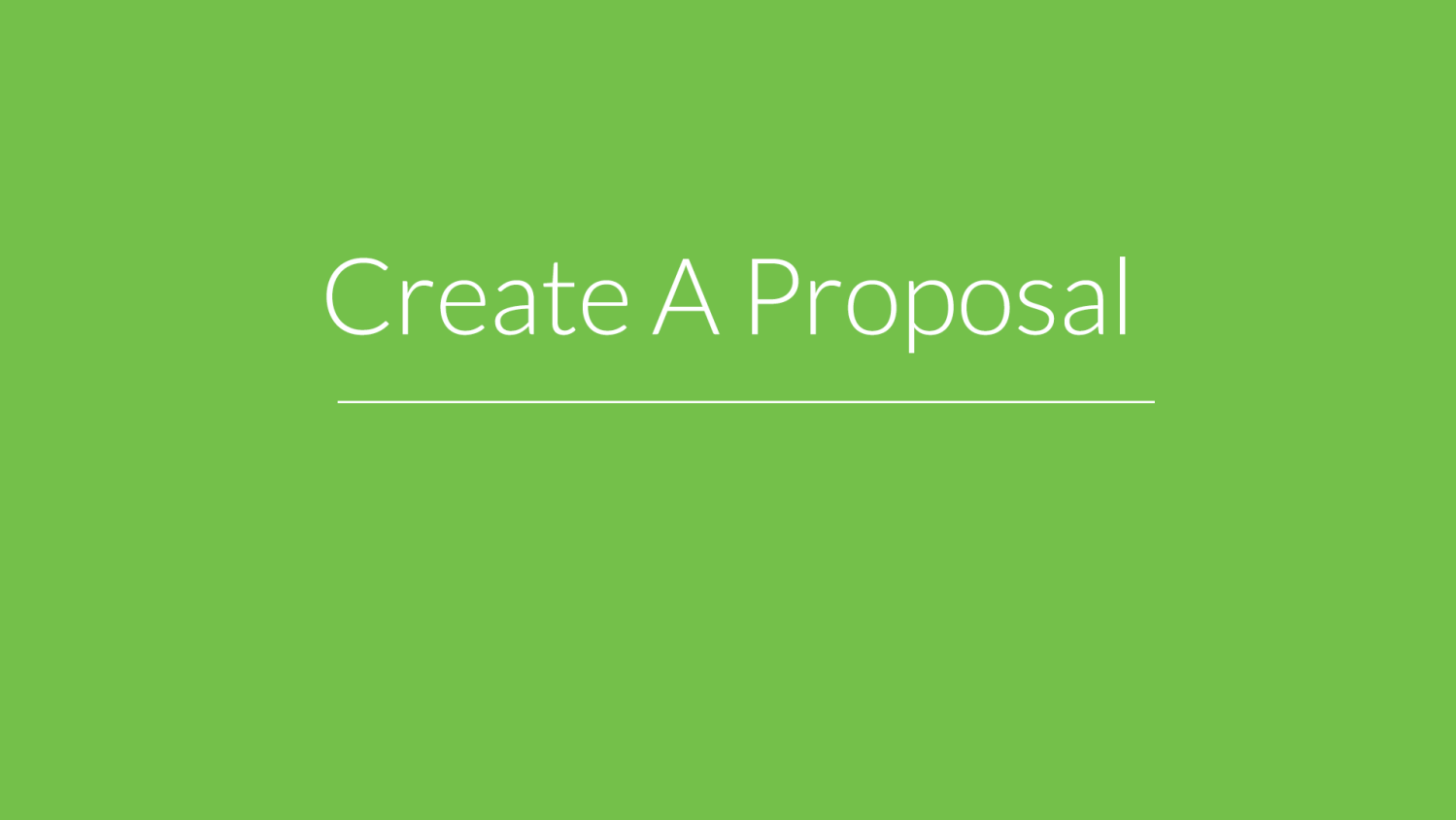createproposal