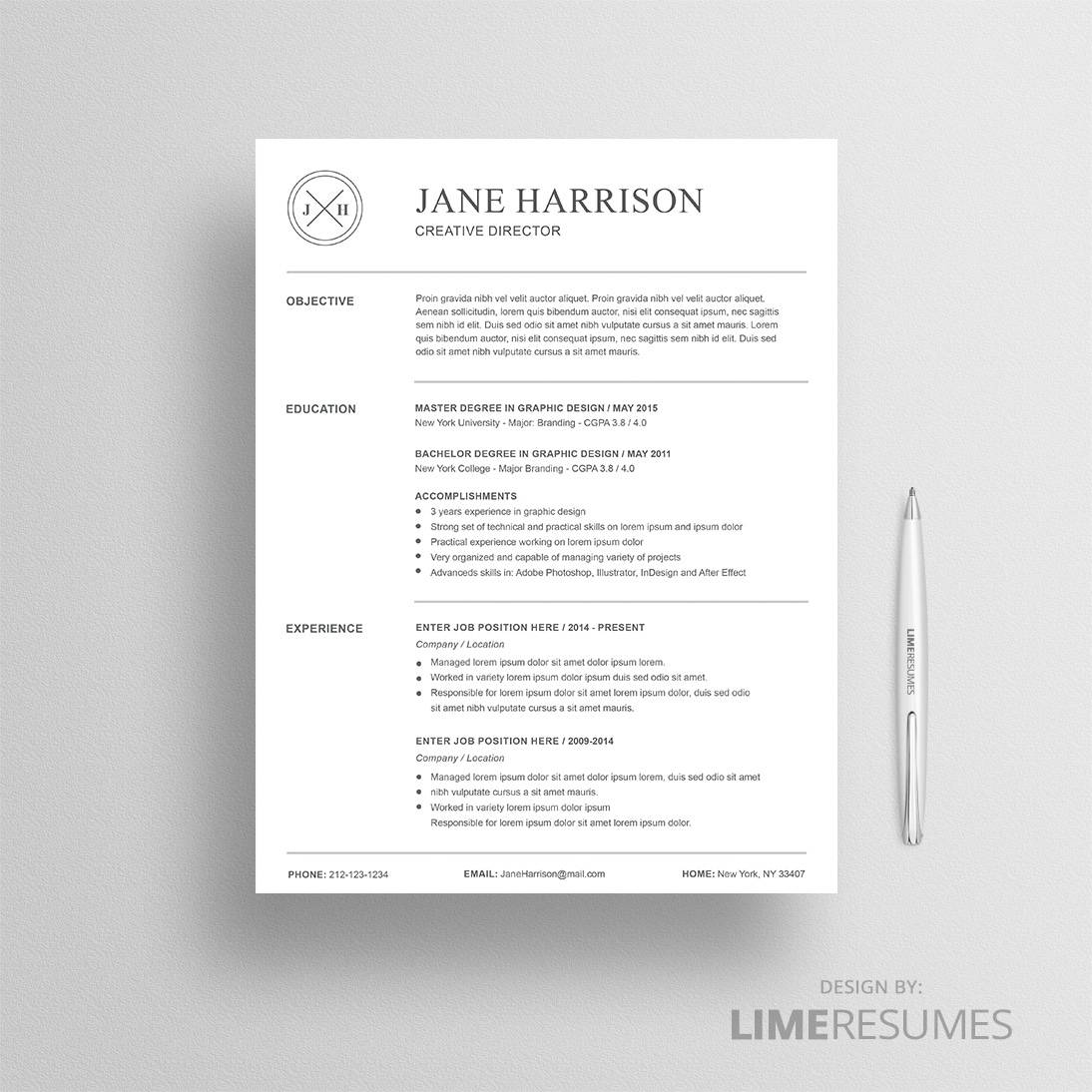 Reference Page For A Resume Resume Template 23