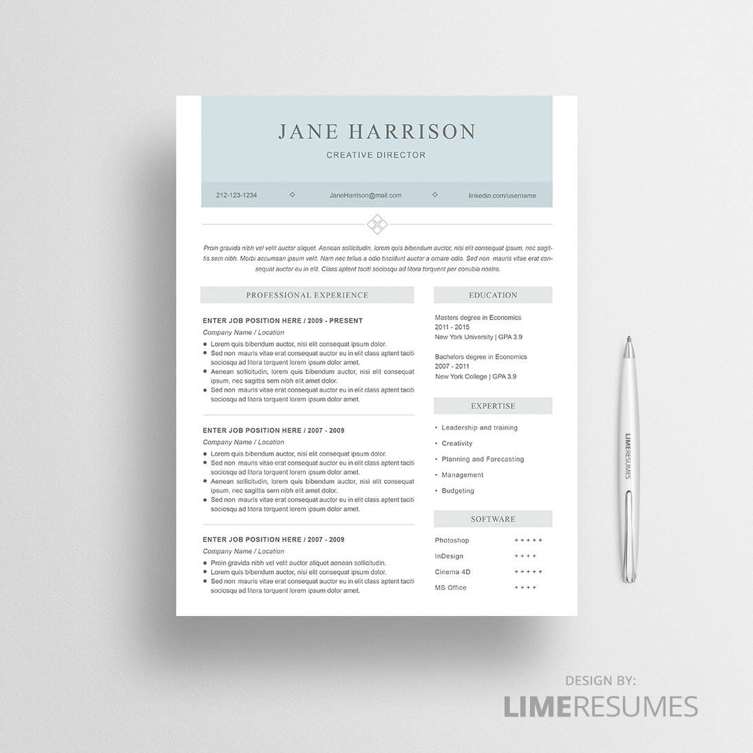 Microsoft Word Templates For Resumes Resume Template Cover Letter Template For Word