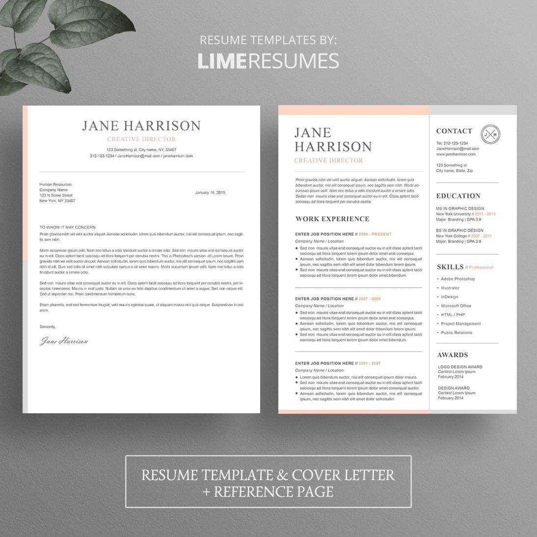Is There A Resume Template In Microsoft Word 2007 Resume Template Cover Letter Template For Word