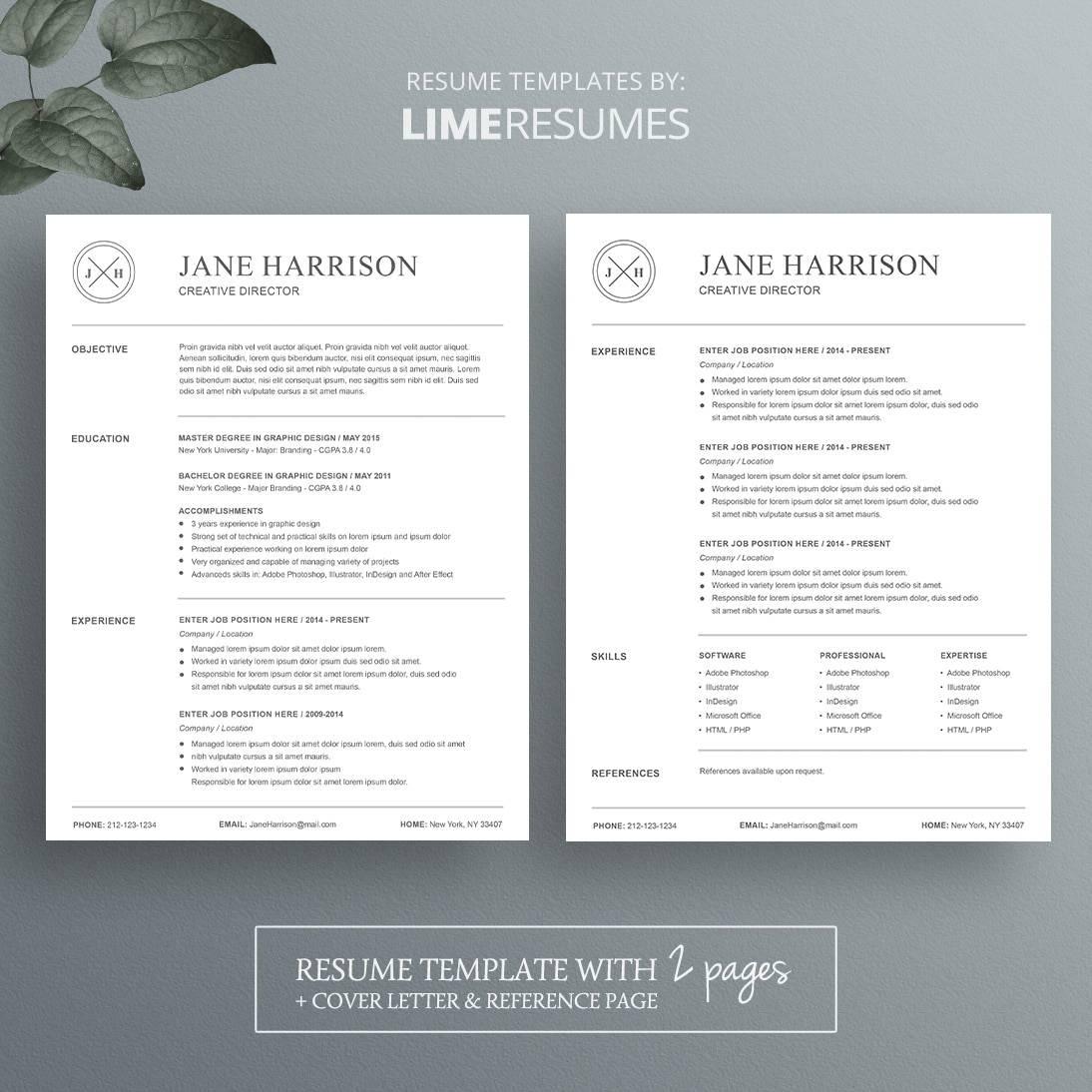 Is There A Resume Template In Microsoft Word 2007 Resume Template 23 Limeresumes