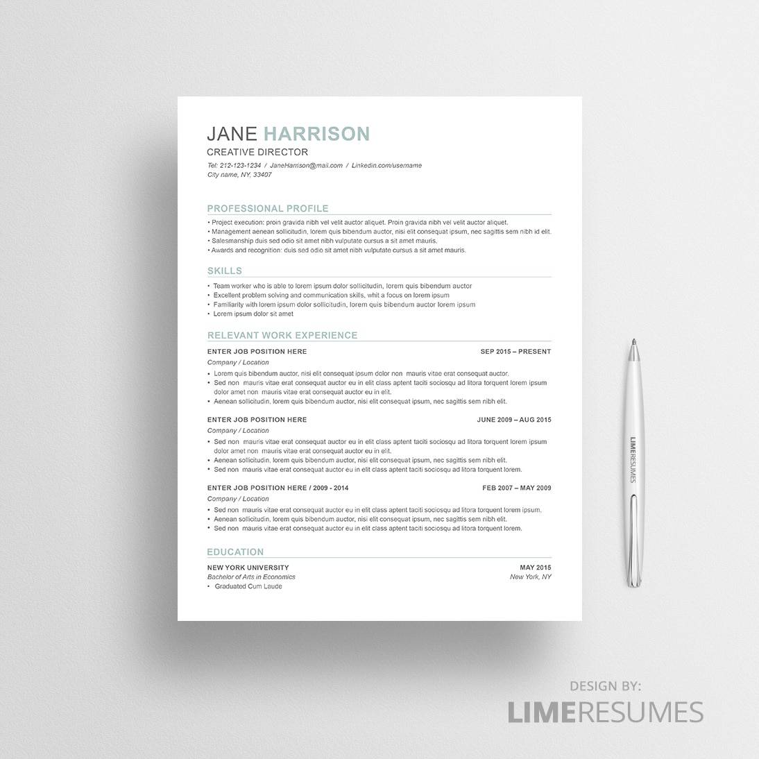 What Is A Combination Resume Format Resume Template 43