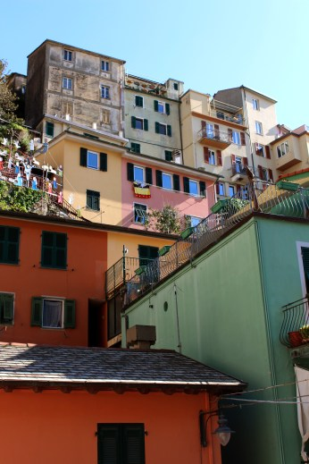 More colorful cute houses, but this time in Manarola.