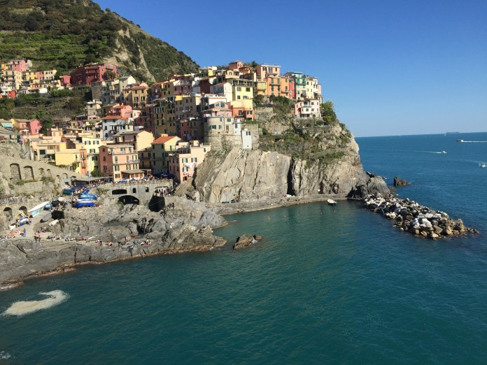 That classic postcard picture of Manarola.