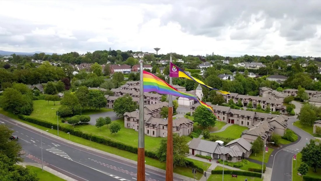 University of Limerick Rainbow Flag