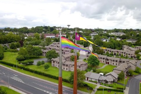 University of Limerick Rainbow Flag