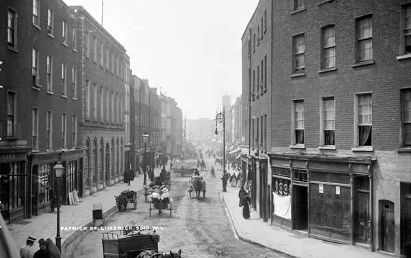 1898 Proposed Limerick Street Names Changes