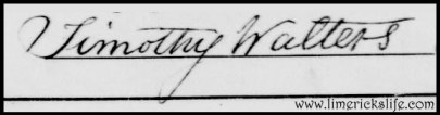 Timothy Walters Signature