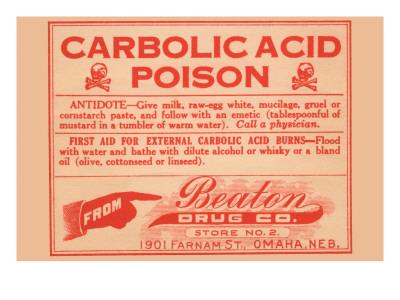 Carbolic Acid Poison