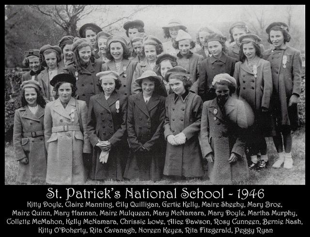 St Patrick's School 1946