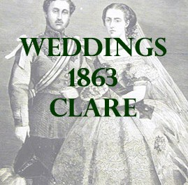 Clare Weddings 1863