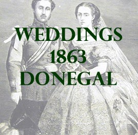 Wedding from County Donegal in 1863