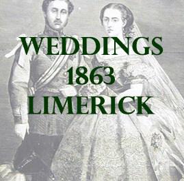 Limerick Weddings 1863
