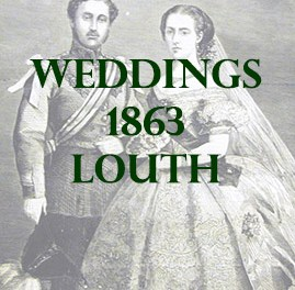 Louth Weddings 1863