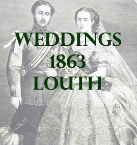 Louth Weddings 1863