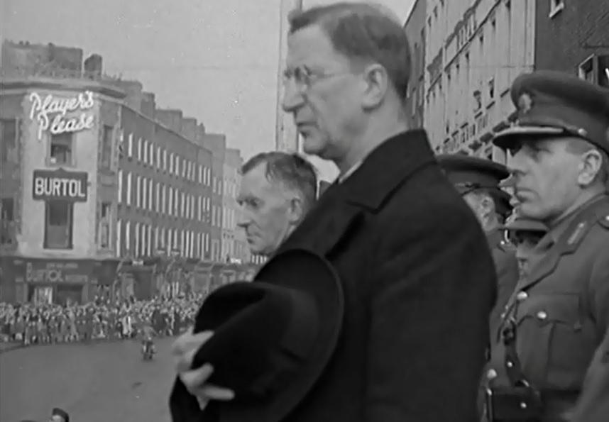 Eamon De Valera in Limerick in 1941