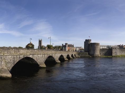 The Shannon River in and around Limerick City