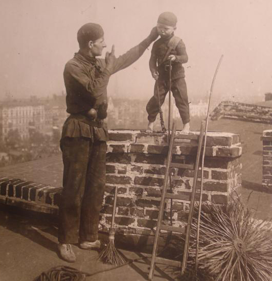 Chimney Sweeping a Fatal Occupation for Young Michael O Brien, 1846