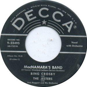 mcnamara's band