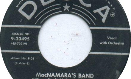 Limerick's McNamara's Band immortalised by Bing Crosby