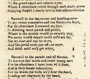 A poem: The Praises of Limerick, written in the 1860s