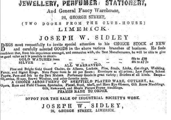 Who was Joseph William Sidley • People & Genealogy