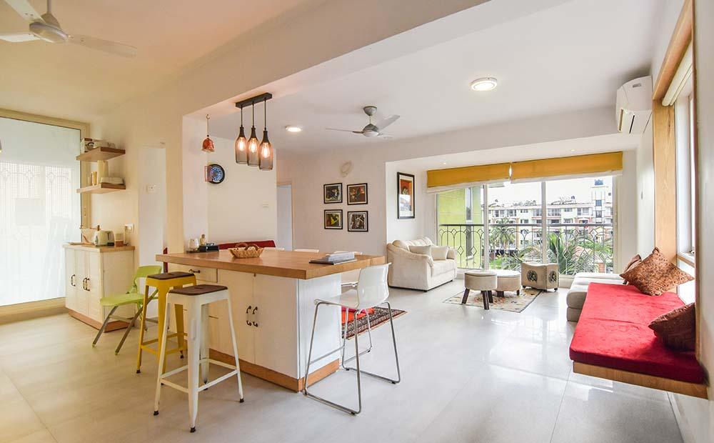 Goa-Artsy Luxury Penthouse in Candolim 3