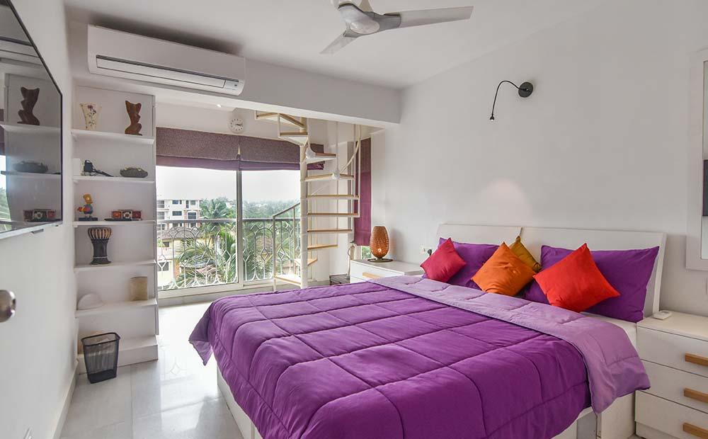 Goa-Artsy Luxury Penthouse in Candolim 8
