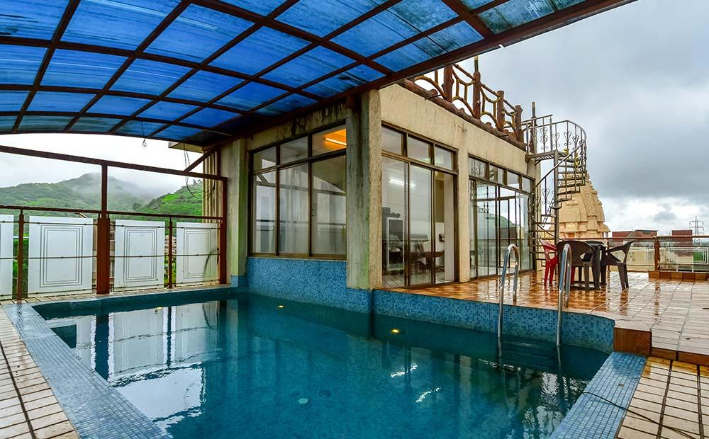 Lonavala-Marina Royal Villa Rooftop Pool 3