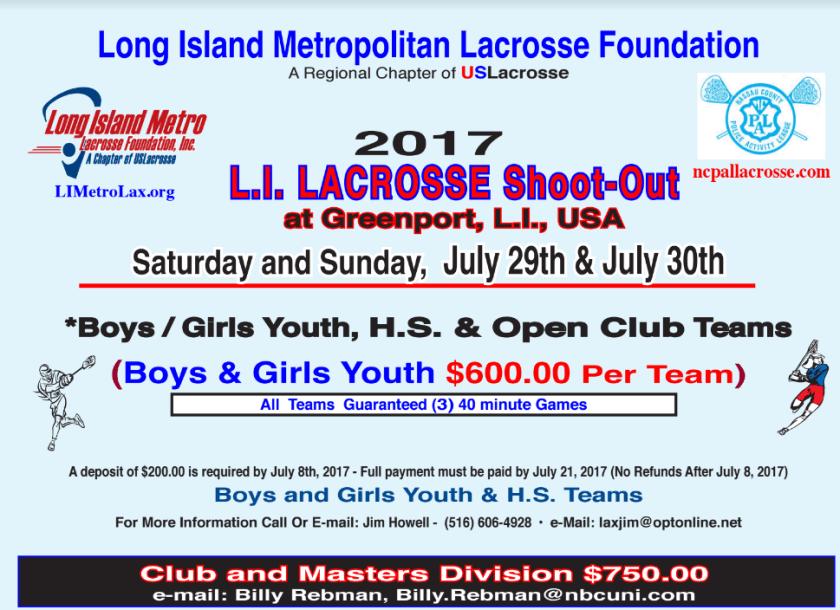 2017 Greenport Lacrosse