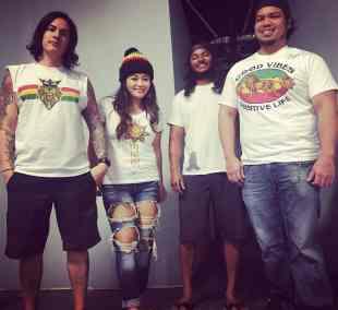 Band Wakane with Limey Love TShirts!