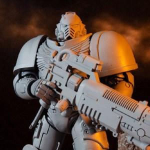 MCFARLANE TOYS– Warhammer 40,000 Primaris Space Marine Hellblaster (Artist Proof) Action Figure