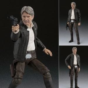 S.H.Figuarts Star Wars Han Solo – The Force Awakens – Bandai Tamashii Nations