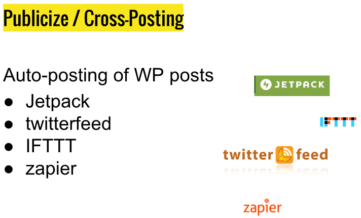Publiseze WordPres cross-posting