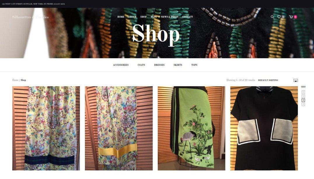 fashion website design by LIMIT8