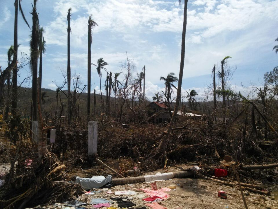 The Grand'Anse has been the hardest hit region of Haiti