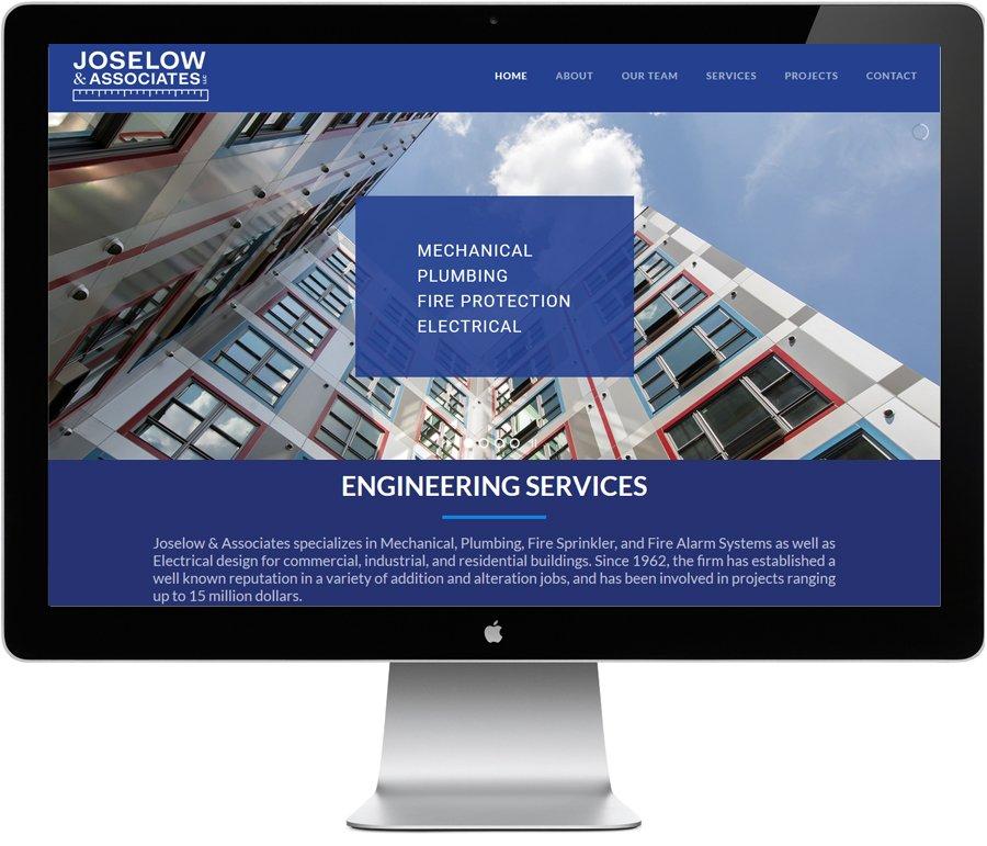 Joselow Engineering, website by LIMIT8