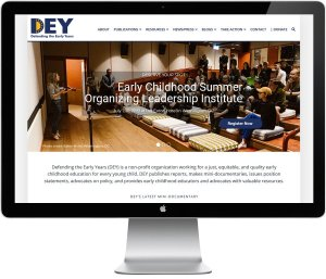 Defending the Early Years, website by web design gurus at LIMIT8
